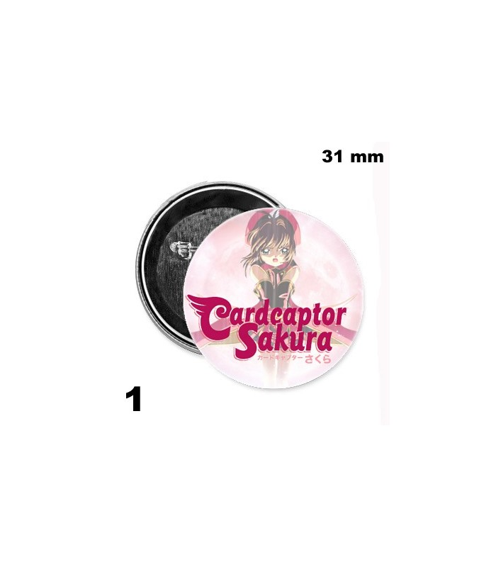 Chapa 31mm Sakura Card Captor