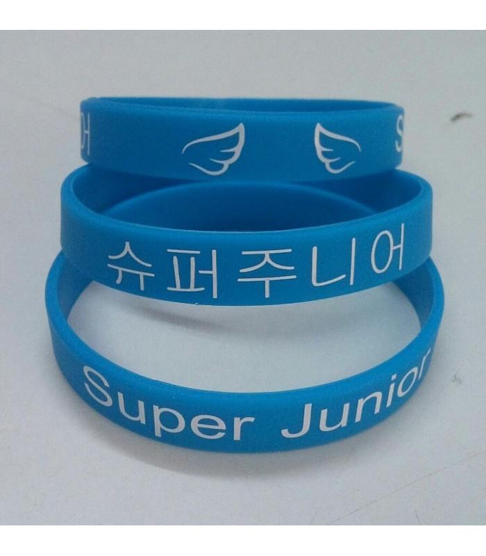 Pulsera de silicona Super Junior