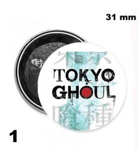 Chapa 31mm Tokyo Ghoul