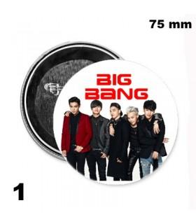 Chapa 75 mm BigBang 2016