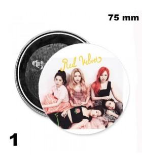Chapa 75 mm Red Velvet 2016