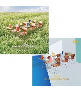 CD ASTRO - DREAM PART.02 (5TH MINI ALBUM) WIND /  WIND VER.
