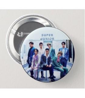 Chapa 75 mm Super Junior blanco