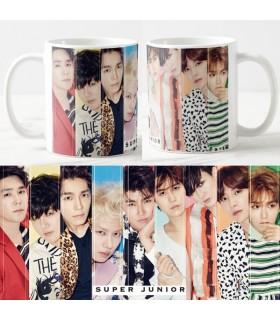 Taza Super Junior Colors