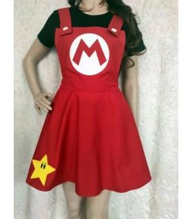 Vestido Peto Mario / Luigi