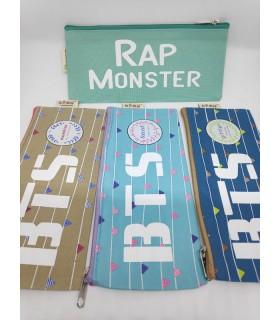 Estuche BTS  colores Rap Monster