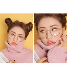 Gafas redondas, moda coreana