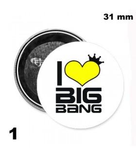 Chapa 31mm BigBang