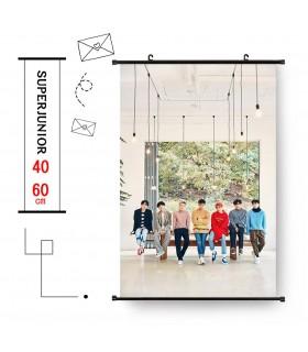 Wall scroll Super Junior