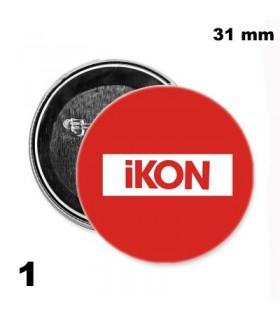 Chapa 31mm Ikon