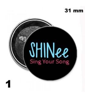 Chapa 31mm Shinee
